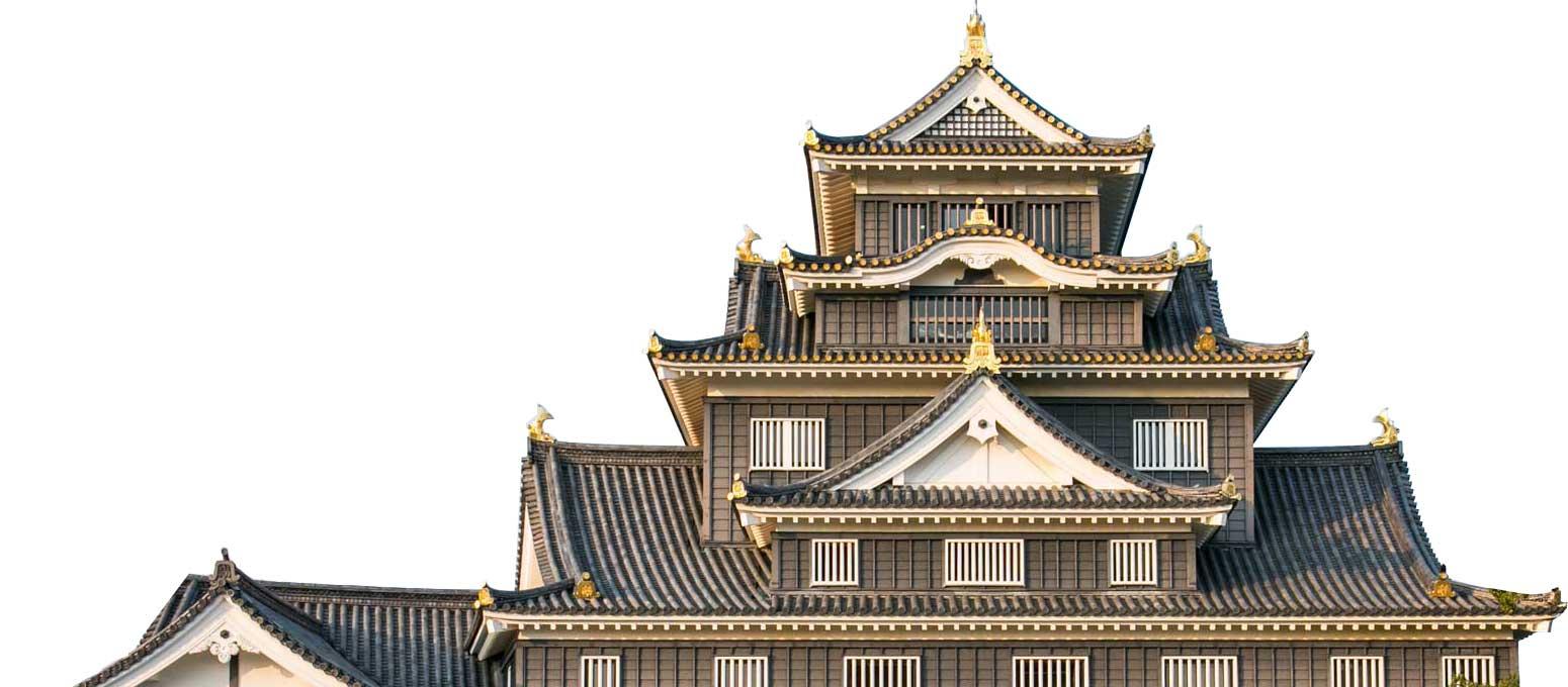 learn-castle-Okayama Castle