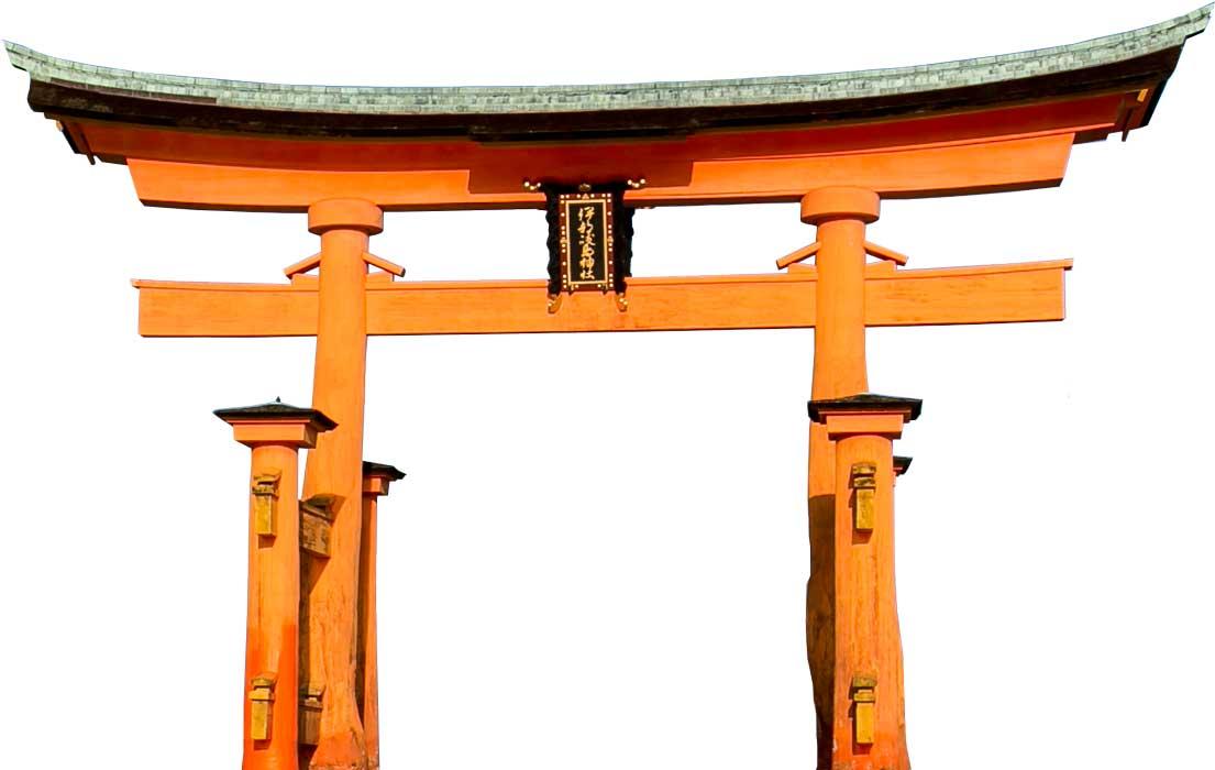 learn temple&Torii