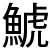 kanji for shachi