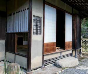 image of Kaho-an's nijiri-guchi