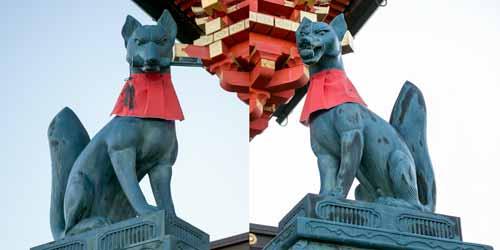 image of fox komainu
