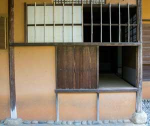 image of Shokintei's nijiri-guchi
