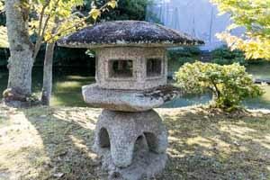 Yukimi-gata Style Lanttern in Katsura