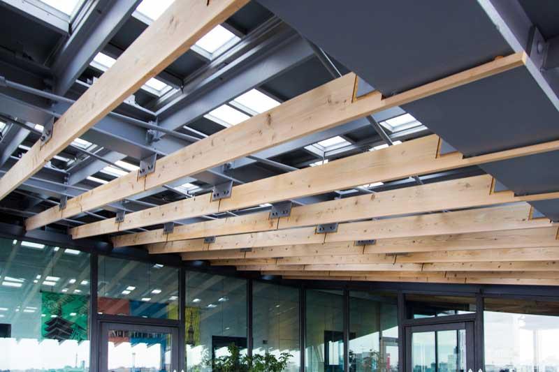 Asakusa Visitor Center Skylight Detail