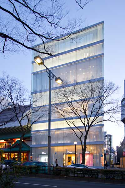 image of Dior-Omotesando evening2