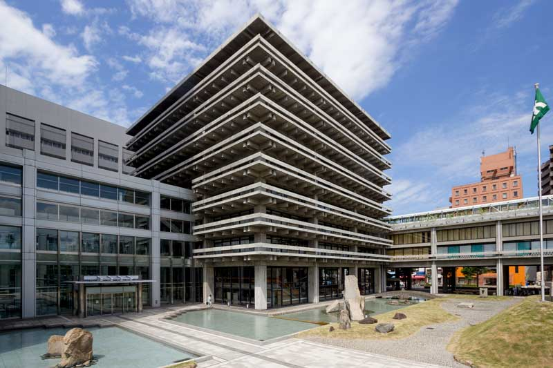 Kagawa prefectural government office East Wing Exterior