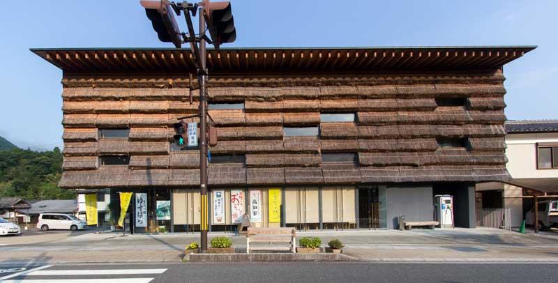 Marche Yusuhara Facade