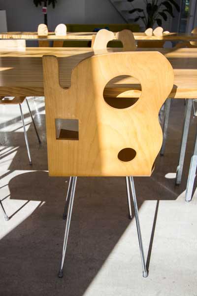 Shibaura House Chair-Cheese