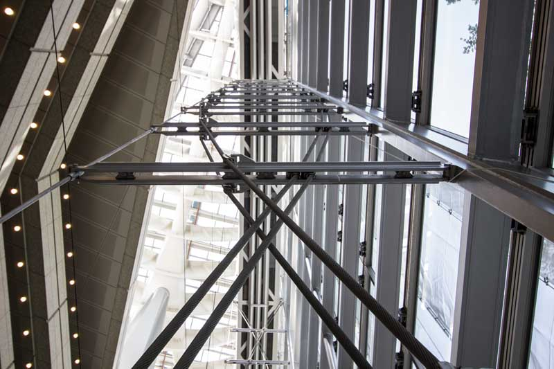 Tokyo International Forum Curtain Wall Support Structure