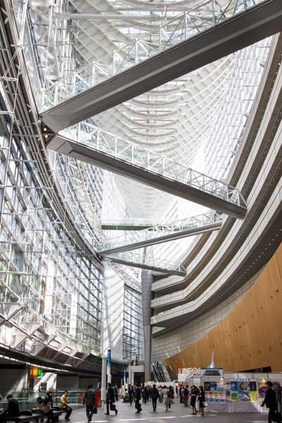 Tokyo International Forum Lobby