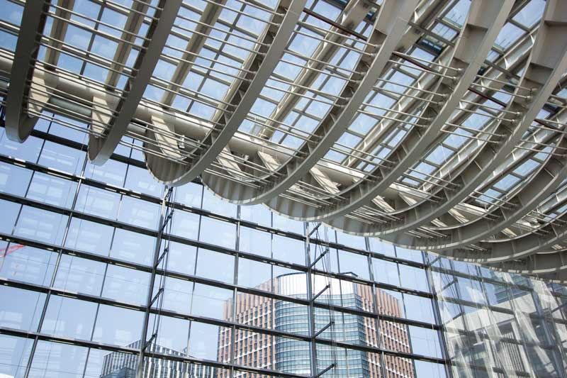 Tokyo International Forum Roof Structure 2