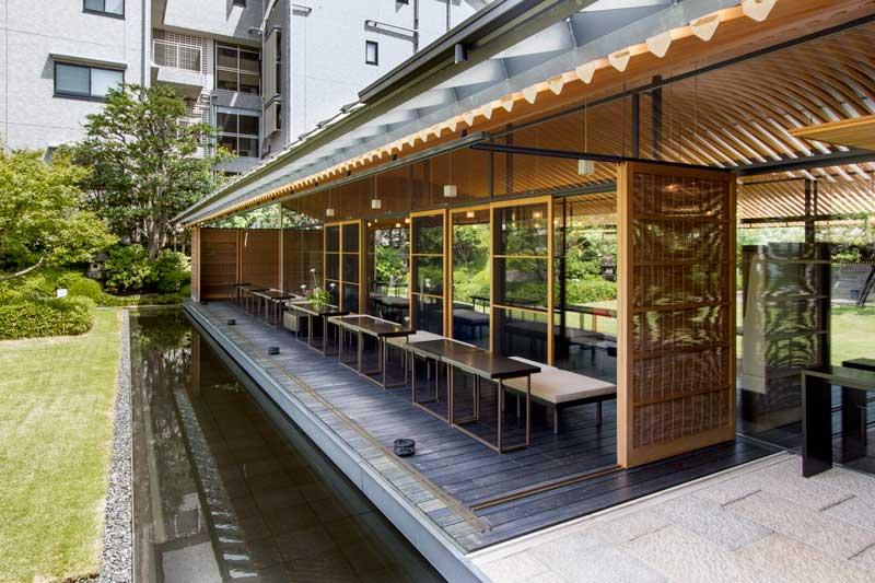 Toraya Karyo Ichijo Courtyard Side Seating