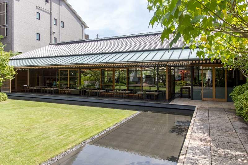 Toraya Karyo Ichijo Courtyard Side