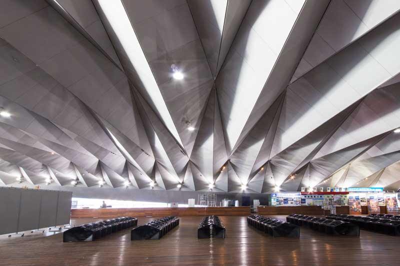 Osanbashi Pier Ceiling