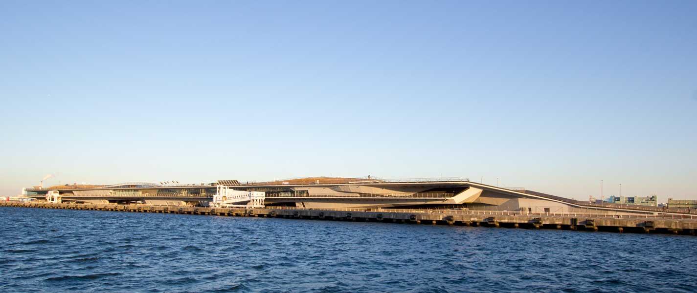 Osanbashi Pier Exterior
