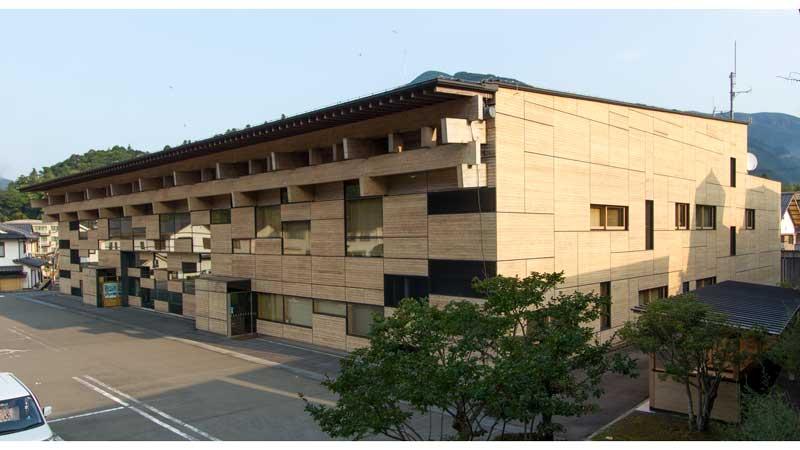 Yusuhara Town Hall Exterior