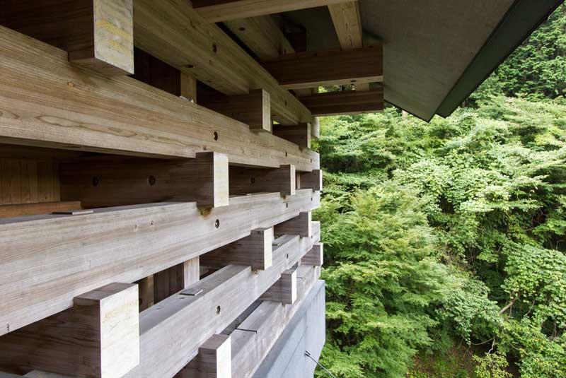 Yusuhara Wooden Bridge Museum Wood Joint