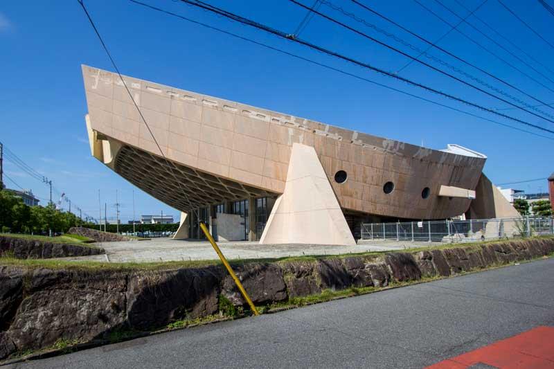 kagawa prefectural gymnasium exterior